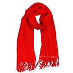 Eleganter Schal Wolle XL in rot, Cashmere Imitation, 70x200cm, 0488